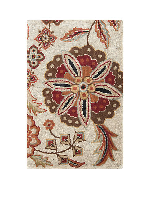 SURYA Athena ATH-5035 Chocolate Area Rug