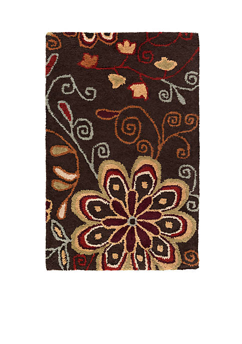 SURYA Athena ATH-5037 Chocolate Area Rug
