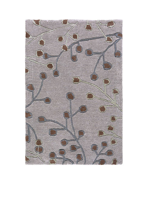 SURYA ATHENA LIGHT GRAY RUG