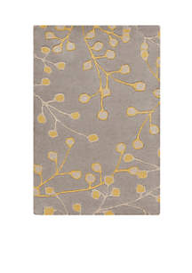 Athena Grey Area Rug 2'6\
