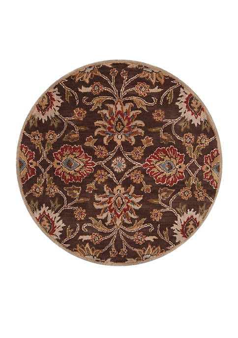 SURYA Caesar Chocolate Area Rug