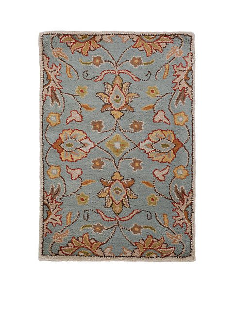 Caesar CAE-1052 Blue Area Rug 2-ft. x 3-ft.