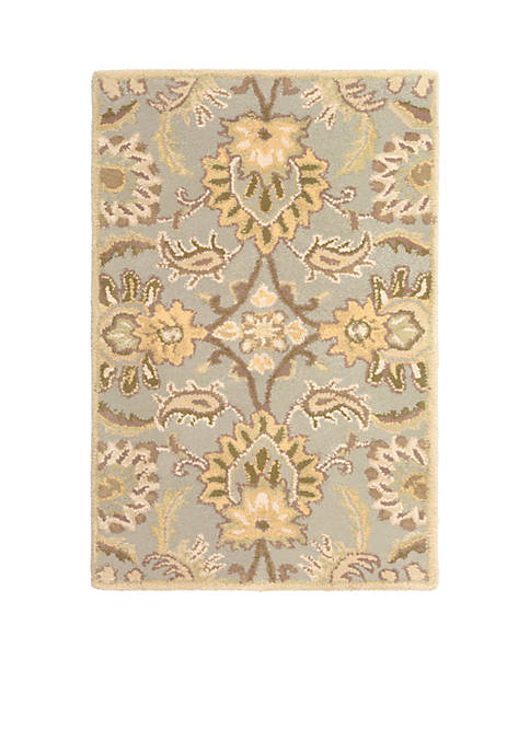 SURYA Caesar CAE-1111 Gray Area Rug 2-ft. x