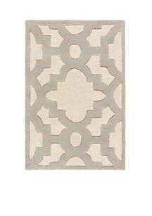 Modern Classics Ivory Area Rug 2' x 3'