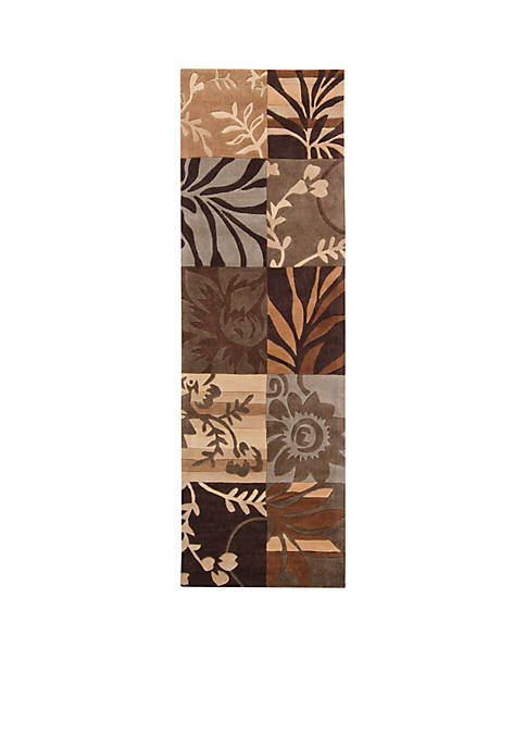 SURYA Cosmopolitan COS-8817 Chocolate Area Rug 2-ft. 6-in.