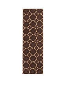 Cosmopolitan Chocolate Area Rug  2'6\