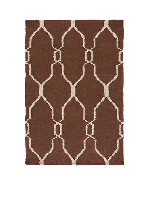 SURYA Fallon Chocolate Area Rug