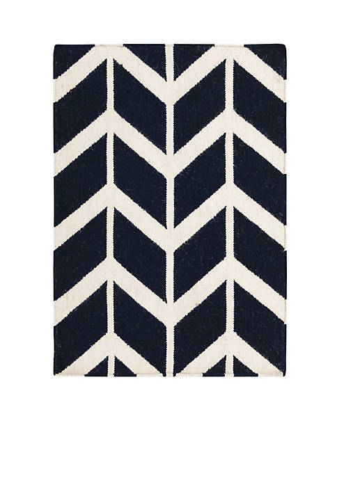 Fallon Navy Area Rug