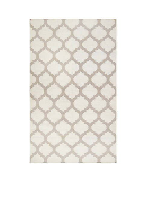 SURYA Frontier Ivory Area Rug 2 x 3