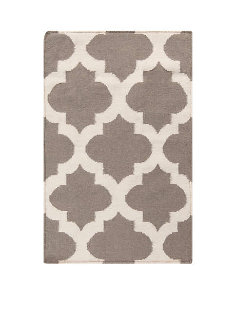 SURYA FT122-23 GRAY RUG