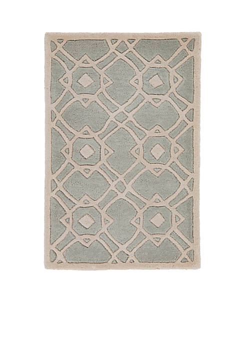 SURYA Goa Light Gray Area Rug 2 x