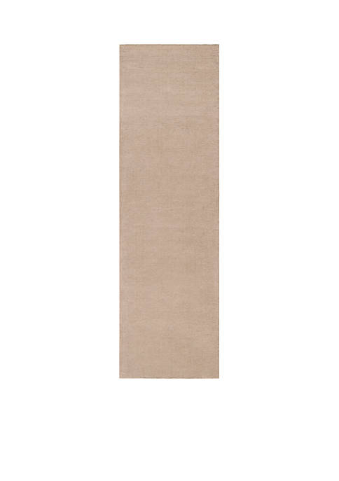 Mystique M-335 Taupe Area Rug 2-ft 6-in. x 8-ft. Runner