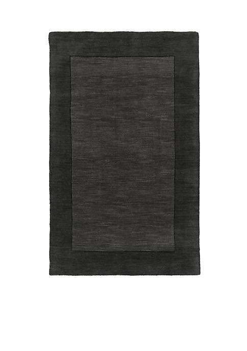 SURYA Mystique Charcoal Area Rug
