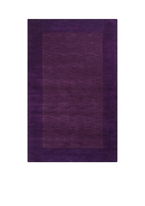 SURYA Mystique M-349 Purple Area Rug 2-ft x