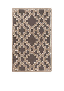 SURYA Modern Classics Charcoal Area Rug