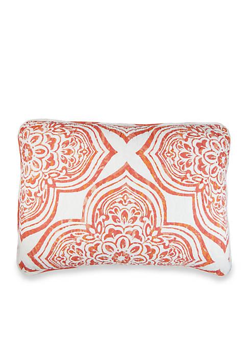 Elise & James Home™ Belclaire Coral Standard Sham