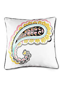 Michael Paisley Icon Decorative Pillow