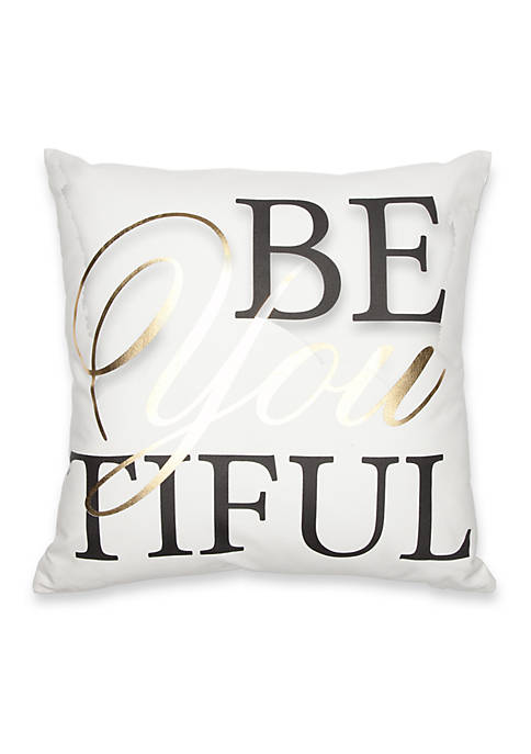 Elise & James Home™ BeYoutiful Decorative Pillow
