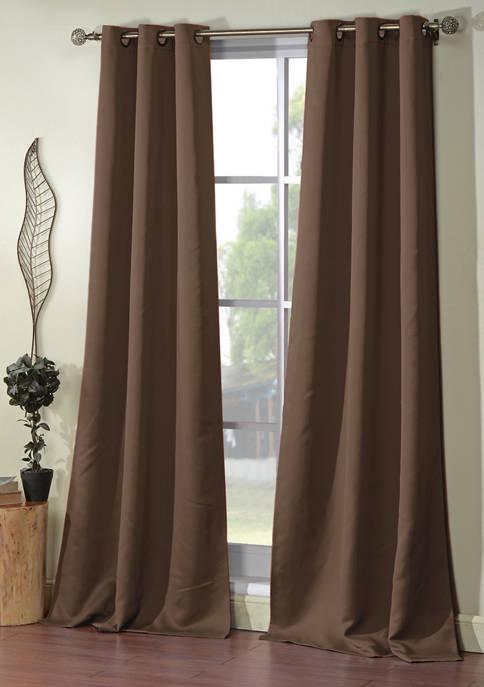 Ashmury Solid Blackout Curtain Set