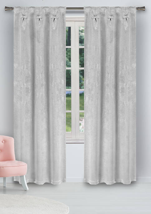 Clarina Solid Blackout Curtain Set