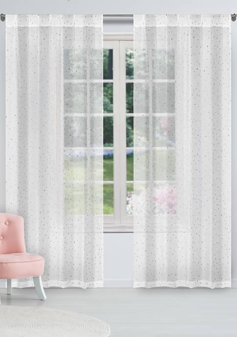 Lala + Bash Davis Solid Window Curtain Set