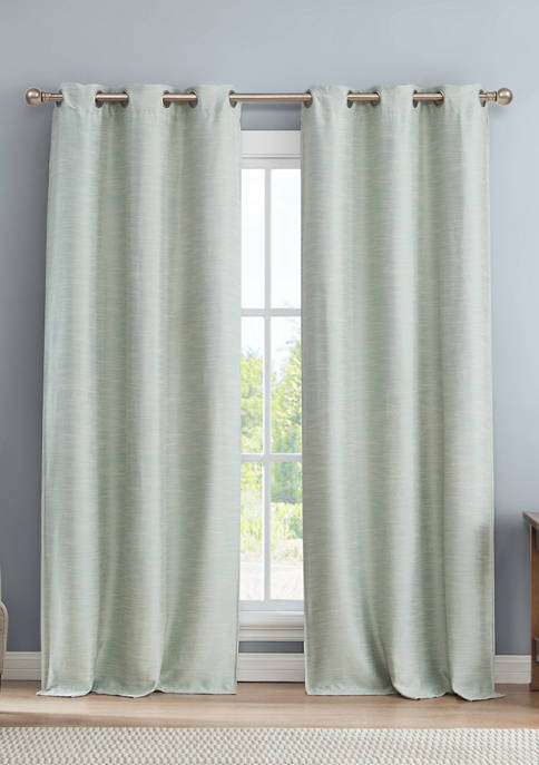 Fay Solid Blackout Curtain Set