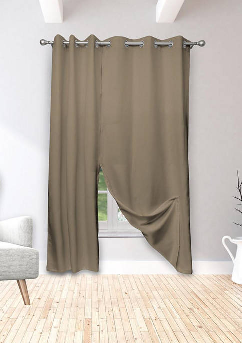 Kelvin Isaac Solid Magnetic Blackout Curtain Set