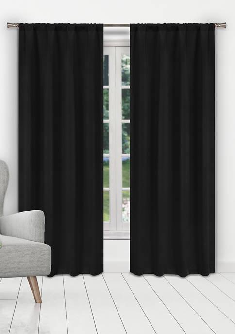 Blackout 365 Ira Solid Blackout Curtain Set