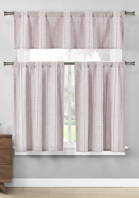 Duck River Textile Kylie Kitchen Curtain and Tier