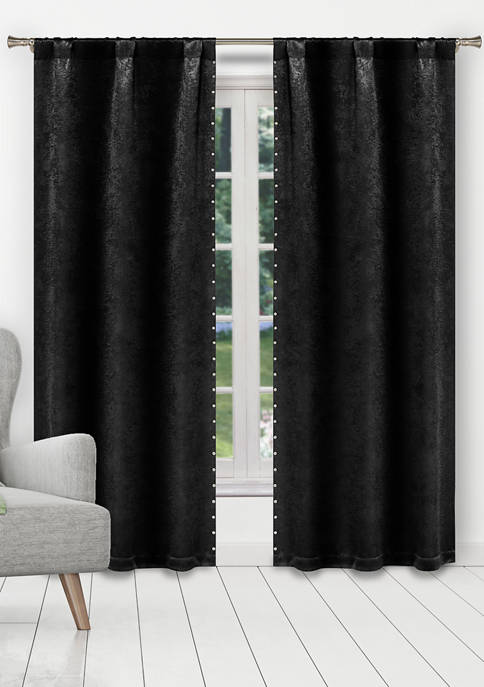 Marcy Solid Blackout Curtain Set