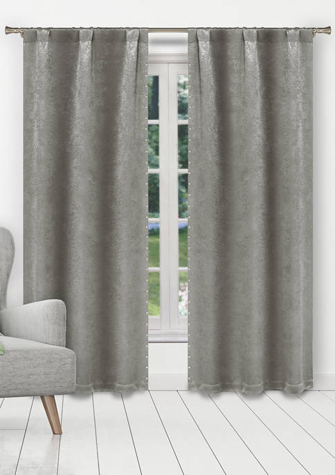 Kelvin Marcy Solid Blackout Curtain Set