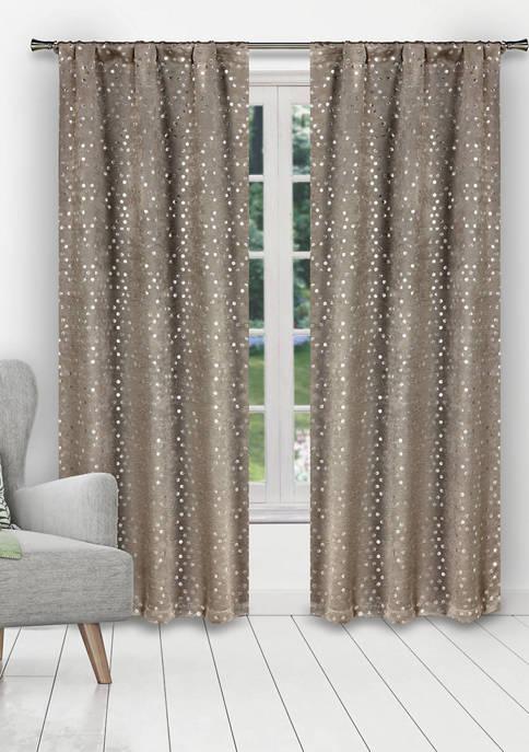 Duck River Textile Margie Solid Blackout Curtain Set