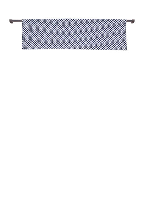 Duck River Textile Medici Print Kitchen Valance