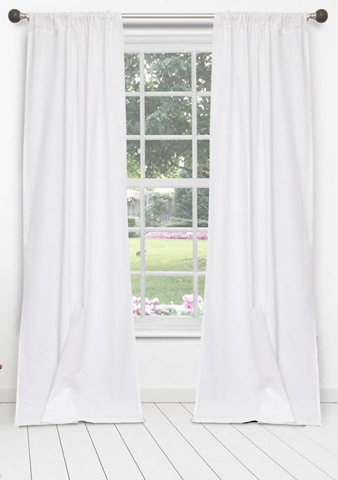 Duck River Textile MILES Eyelet Cotton Window Curtain