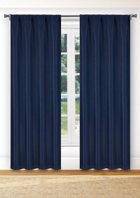 Kelvin Montgomery Solid Blackout Curtain Set