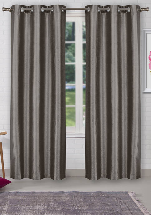 Home Maison Sydneyann Solid Window Curtain Set