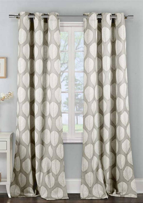 Duck River Textile Zaria Floral Window Curtain Set