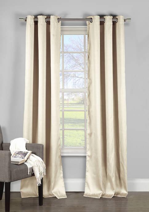 Davenport Solid Window Curtain Set