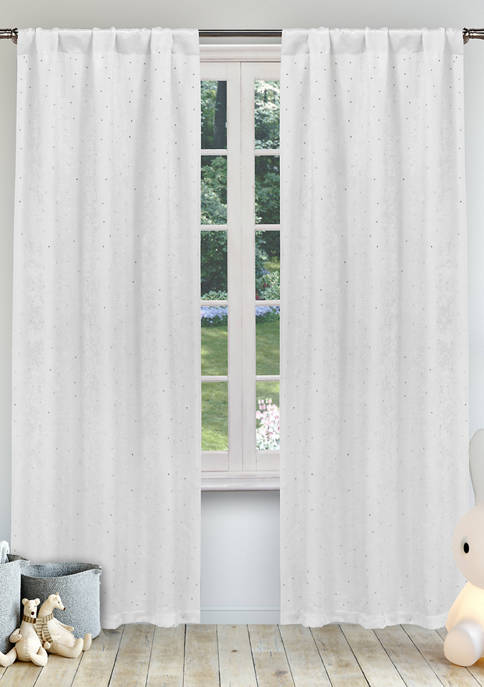 Daniella Solid Window Curtain Set