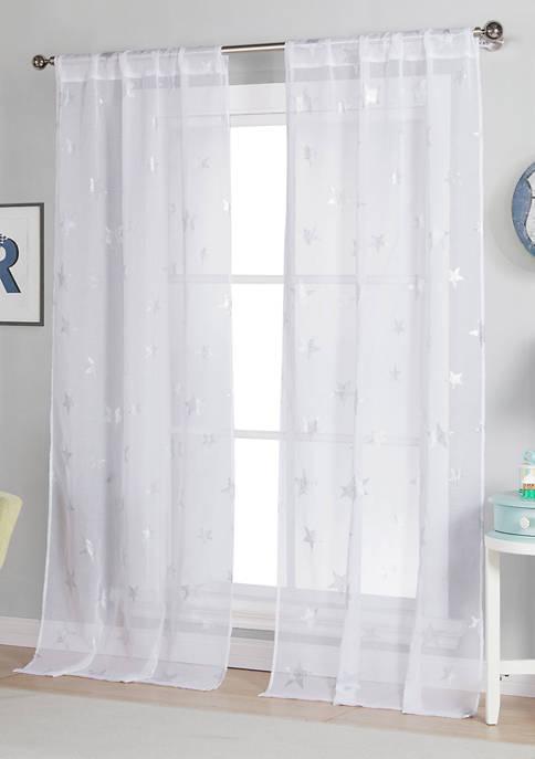 Gruda Print Window Curtain Set