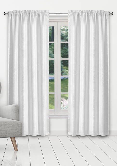 38 in x 84 in Madyson Solid Window Curtain Set