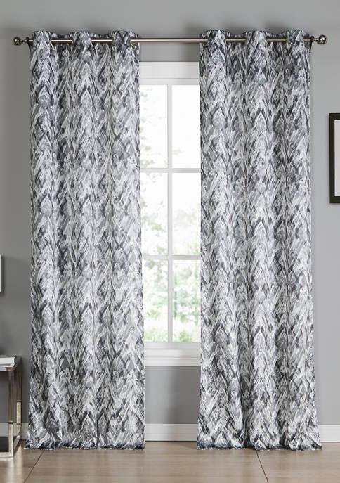 Set of 2 Neila Print Window Curtains