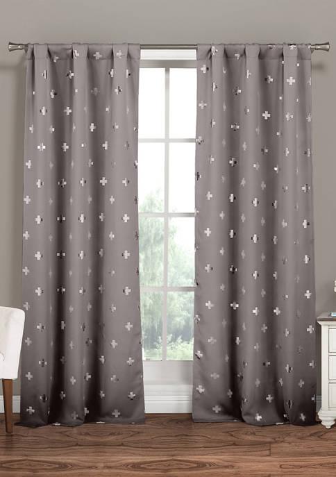 Pollus Print Blackout Curtain Set