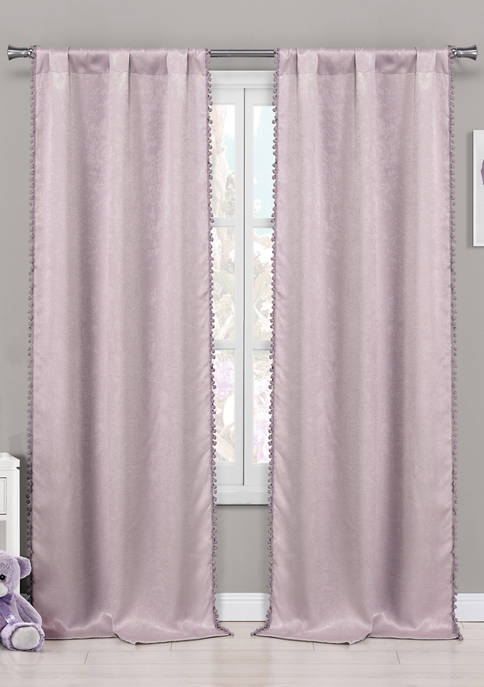 Tucker Solid Blackout Curtain Set
