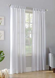 Jacob Semi-Sheer Tab Top Curtain Panel