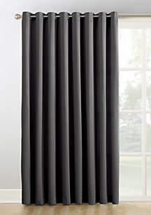 Sun Zero™ Hayden Extra-Wide Blackout Sliding Patio Door Curtain Panel