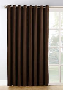 Hayden Extra-Wide Blackout Sliding Patio Door Curtain Panel