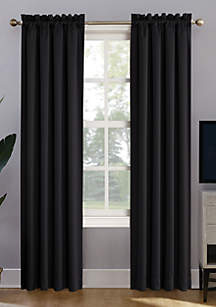 Oslo Home Theater Grade Extreme Blackout Rod Pocket Curtain Panel
