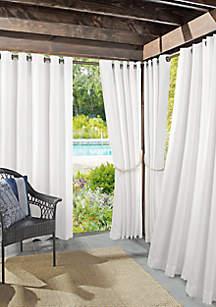 Sun Zero™ Roku Woven Indoor/Outdoor UV Protectant Curtain Panel