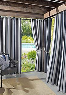 Sun Zero™ Valencia Cabana Stripe Indoor/Outdoor UV Protectant Curtain Panel